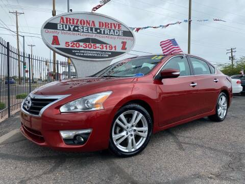 2015 Nissan Altima for sale at Arizona Drive LLC in Tucson AZ