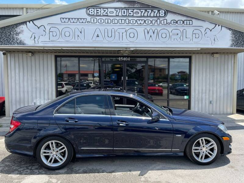 2012 Mercedes-Benz C-Class for sale at Don Auto World in Houston TX