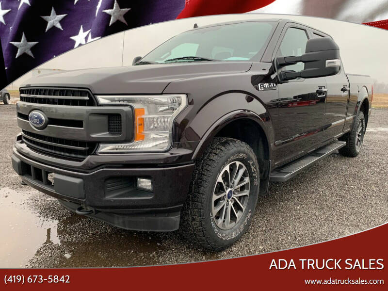 2018 Ford F-150 for sale at Ada Truck Sales in Ada OH