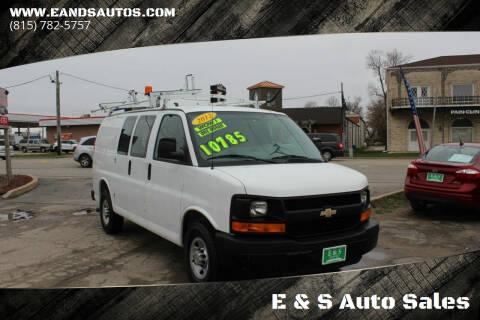 2012 Chevrolet Express Cargo for sale at E & S Auto Sales in Crest Hill IL