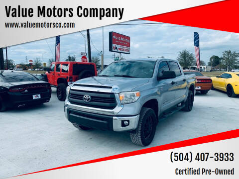2014 Toyota Tundra for sale at Value Motors Company in Marrero LA