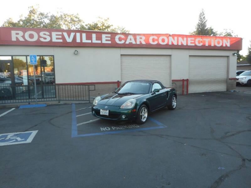 2003 Toyota MR2 Spyder for sale at ROSEVILLE CAR CONNECTION in Roseville CA