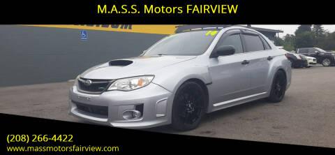 2014 Subaru Impreza for sale at M.A.S.S. Motors - Fairview in Boise ID