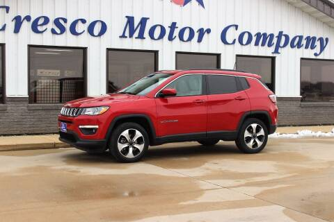 2017 Jeep Compass for sale at Cresco Motor Company in Cresco IA