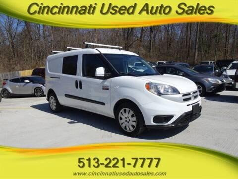 2016 RAM ProMaster City Cargo for sale at Cincinnati Used Auto Sales in Cincinnati OH