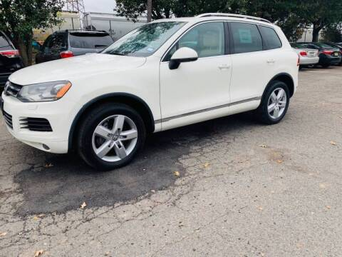 2012 Volkswagen Touareg for sale at Bluesky Auto in Bound Brook NJ