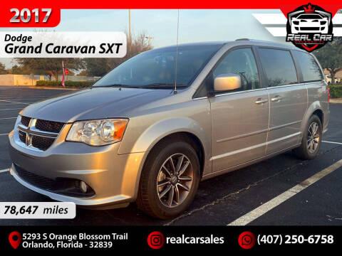 2017 Dodge Grand Caravan for sale at Real Car Sales in Orlando FL
