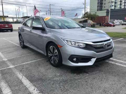 2017 Honda Civic for sale at MIAMI AUTO LIQUIDATORS in Miami FL