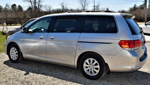 2008 Honda Odyssey for sale at PINNACLE ROAD AUTOMOTIVE LLC in Moraine OH