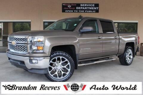 2015 Chevrolet Silverado 1500 for sale at Brandon Reeves Auto World in Monroe NC