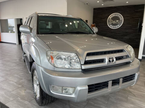2004 Toyota 4Runner for sale at Evolution Autos in Whiteland IN