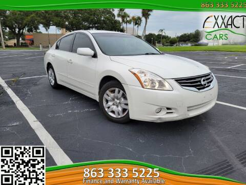 2010 Nissan Altima for sale at Exxact Cars in Lakeland FL
