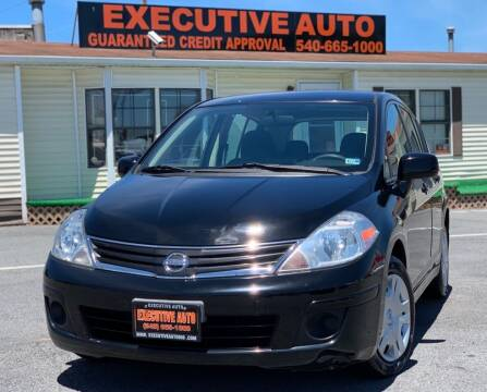 2010 Nissan Versa for sale at Executive Auto in Winchester VA