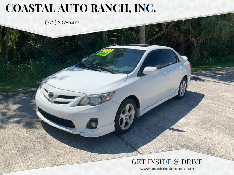 2012 Toyota Corolla for sale at Coastal Auto Ranch, Inc. in Port Saint Lucie FL