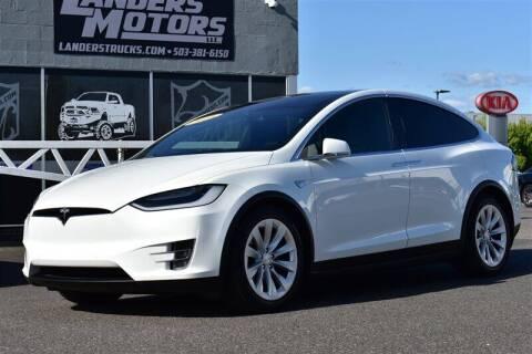 2016 Tesla Model X for sale at Landers Motors in Gresham OR