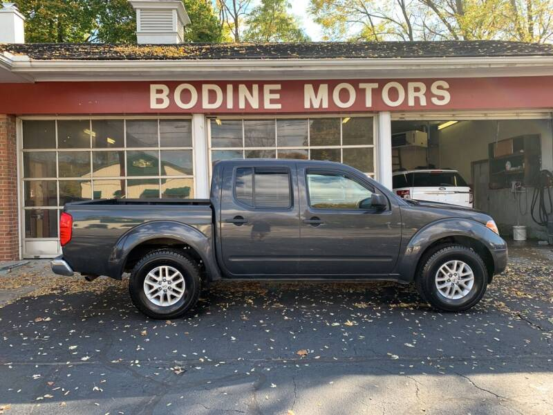 2015 Nissan Frontier for sale at BODINE MOTORS in Waverly NY