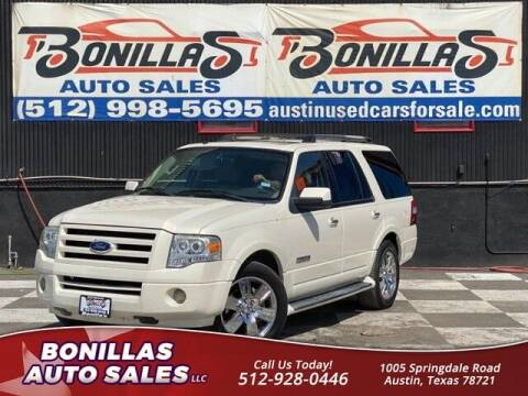 2008 Ford Expedition for sale at Bonillas Auto Sales in Austin TX