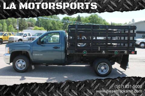 2009 Chevrolet Silverado 3500HD CC for sale at LA MOTORSPORTS in Windom MN