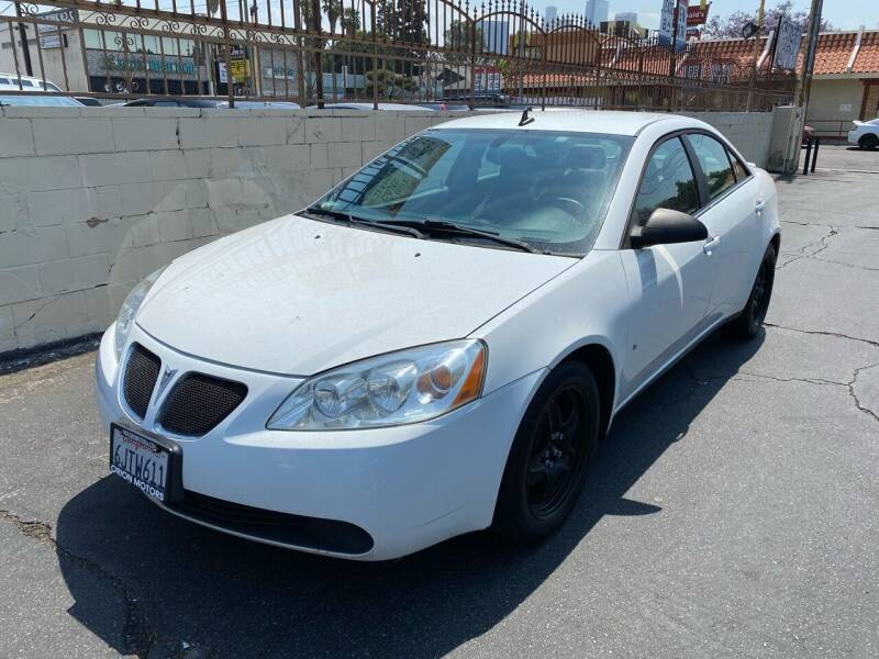 2009 Pontiac G6 for sale in Los Angeles, CA