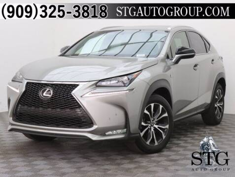 2017 Lexus NX 200t for sale at STG Auto Group in Montclair CA