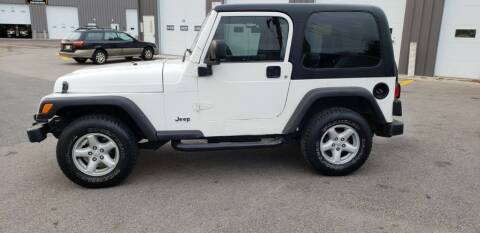 2003 Jeep Wrangler for sale at MX Motors LLC in Ashland MA