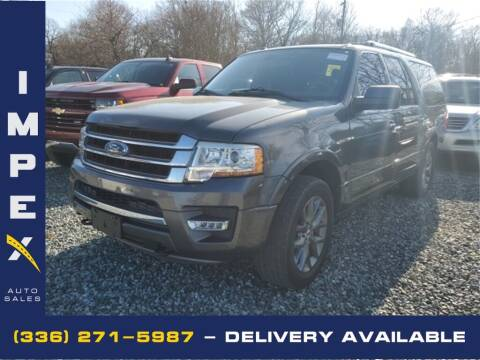 2015 Ford Expedition EL for sale at Impex Auto Sales in Greensboro NC