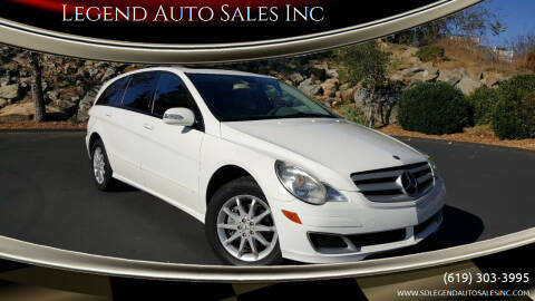 2006 Mercedes-Benz R-Class for sale at Legend Auto Sales Inc in Lemon Grove CA