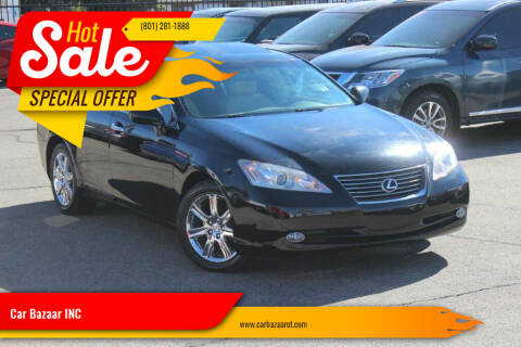 2007 Lexus ES 350 for sale at Car Bazaar INC in Salt Lake City UT