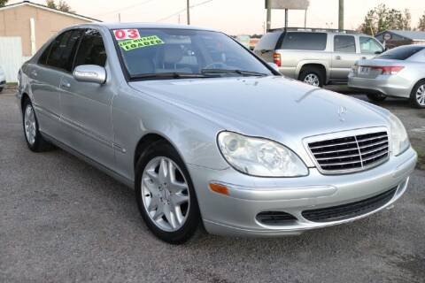 2003 Mercedes-Benz S-Class for sale at Harry's Auto Sales, LLC in Goose Creek SC