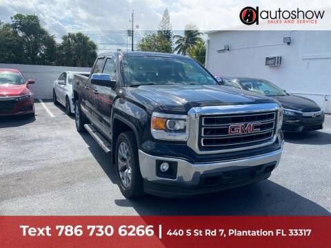 2014 GMC Sierra 1500 for sale at AUTOSHOW SALES & SERVICE in Plantation FL