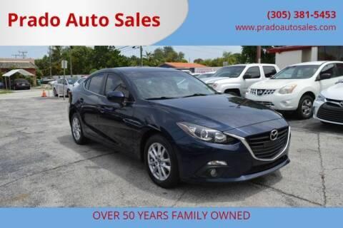 2015 Mazda MAZDA3 for sale at Prado Auto Sales in Miami FL
