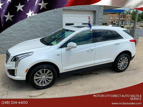 2017 Cadillac XT5 for sale at Motor City Direct Auto Sales & Service in Pontiac MI