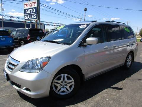 2007 Honda Odyssey for sale at TRI CITY AUTO SALES LLC in Menasha WI