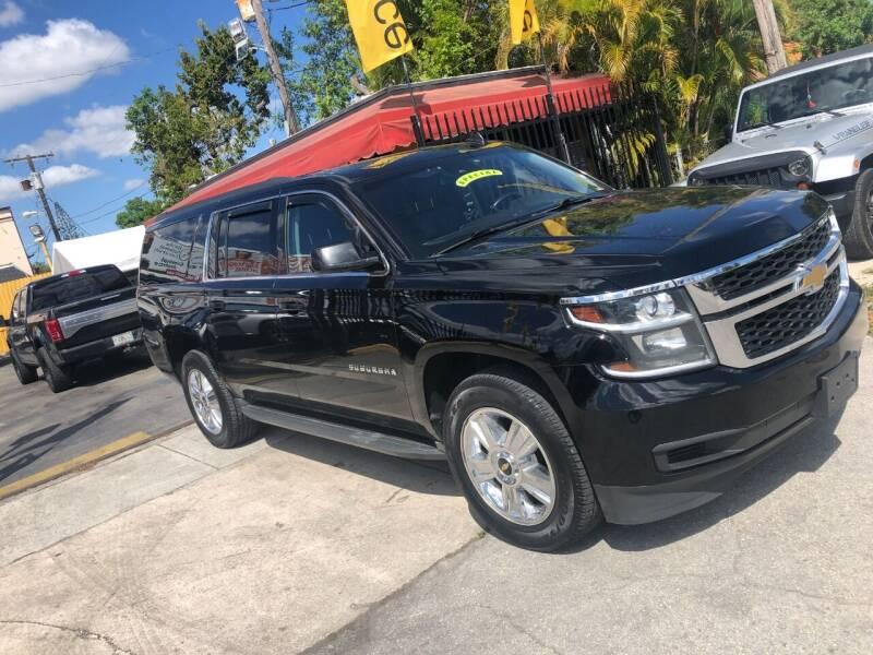 2016 Chevrolet Suburban for sale at AUTO ALLIANCE LLC in Miami FL