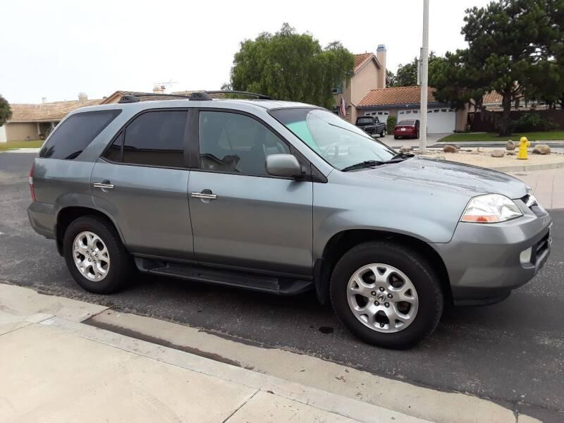 2001 Acura MDX for sale at Goleta Motors in Goleta CA