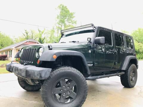2010 Jeep Wrangler Unlimited for sale at Cobb Luxury Cars in Marietta GA