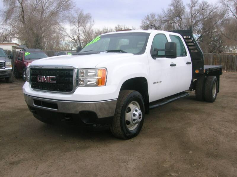 2012 GMC Sierra 3500HD for sale at HORSEPOWER AUTO BROKERS in Fort Collins CO
