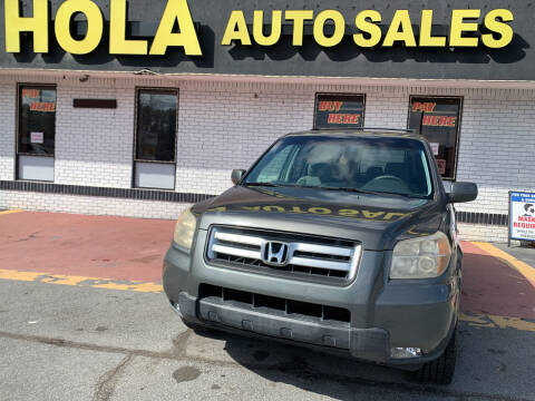 2008 Honda Pilot for sale at HOLA AUTO SALES CHAMBLEE- BUY HERE PAY HERE - in Atlanta GA