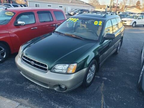 2002 Subaru Outback for sale at Best Price Autos in Two Rivers WI