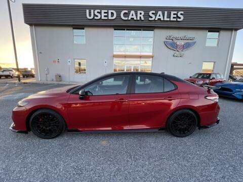2020 Toyota Camry for sale at King Motors featuring Chris Ridenour in Martinsburg WV