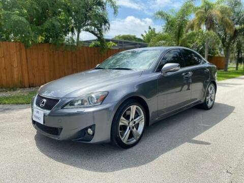 2012 Lexus IS 350 for sale at Venmotors Hollywood in Hollywood FL