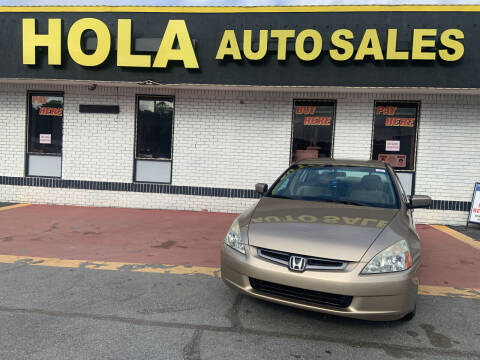 2005 Honda Accord for sale at HOLA AUTO SALES CHAMBLEE- BUY HERE PAY HERE - in Atlanta GA