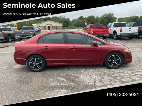 2009 Honda Civic for sale at Seminole Auto Sales in Seminole OK