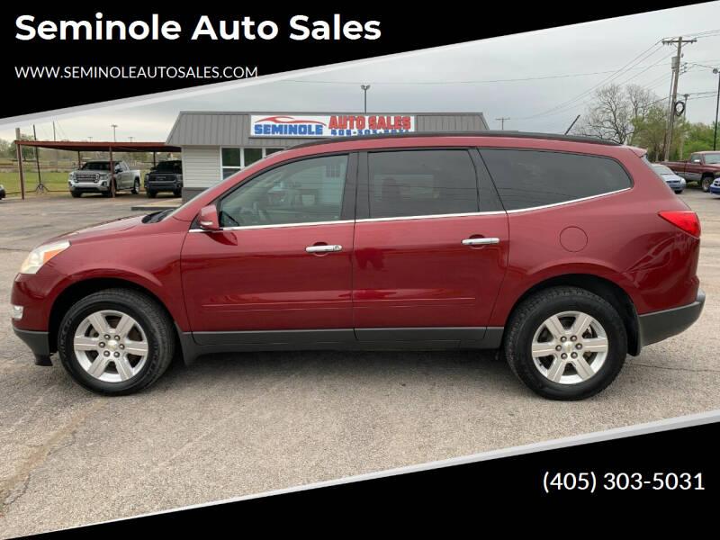 2011 Chevrolet Traverse for sale at Seminole Auto Sales in Seminole OK