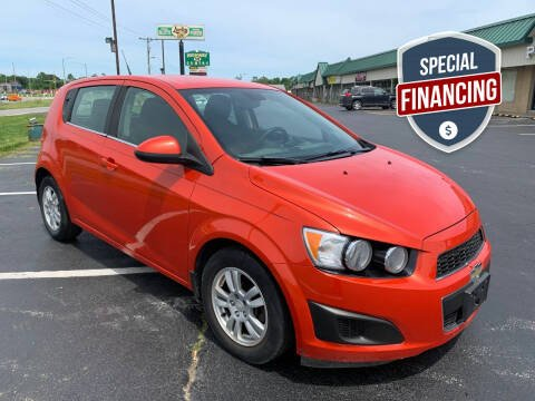 2013 Chevrolet Sonic for sale at Auto World in Carbondale IL