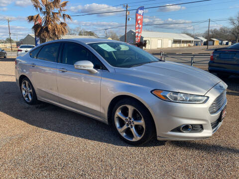 2014 Ford Fusion for sale at M & M Motors in Angleton TX