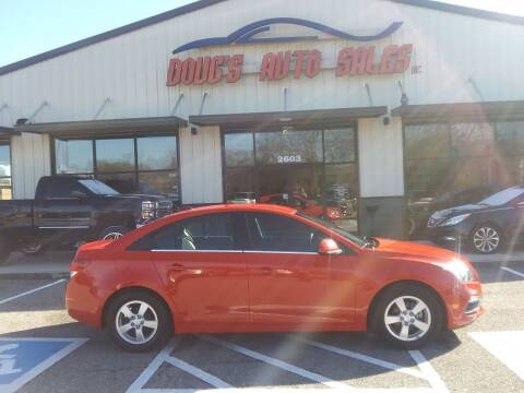 2016 Chevrolet Cruze Limited for sale at DOUG'S AUTO SALES INC in Pleasant View TN