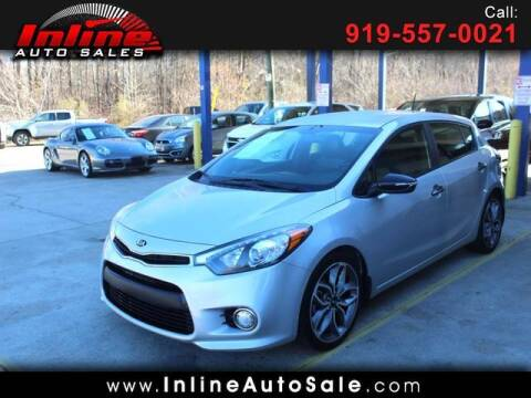 2016 Kia Forte5 for sale at Inline Auto Sales in Fuquay Varina NC