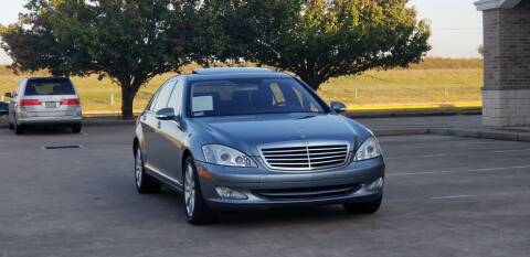 2007 Mercedes-Benz S-Class for sale at America's Auto Financial in Houston TX