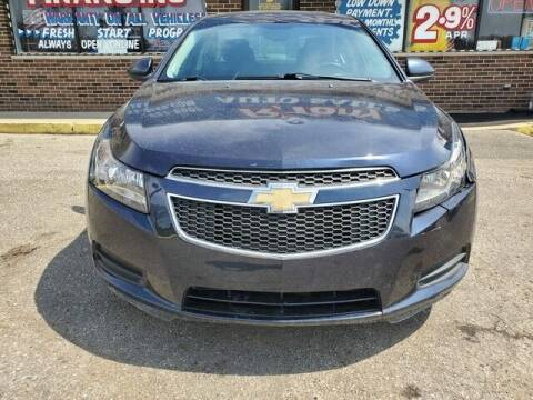 2014 Chevrolet Cruze for sale at R Tony Auto Sales in Clinton Township MI